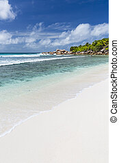 Anse Cocos, La Digue, Seychelles - Perfect white beach Anse...
