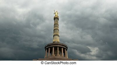 4K, Time Lapse, Victory Column, Berlin