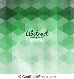 Abstract hexagonal Shape Background for Business