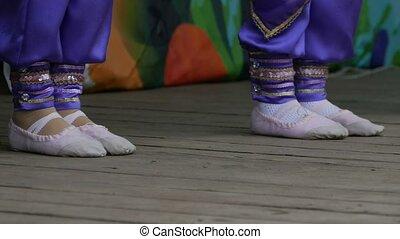 legs dancing girls teens slow motion video