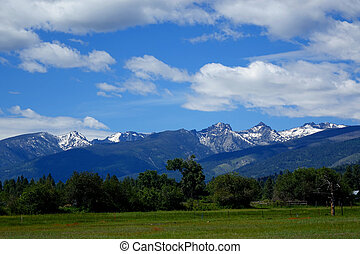 Bitterroot Mountains, Montana - The Bitterroot Mountains...