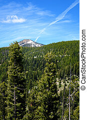 Lost Trail Pass is located on the border between Idaho and...