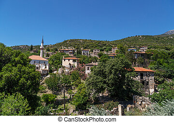 Aydin Doganbey Village - Landscape view of historical...