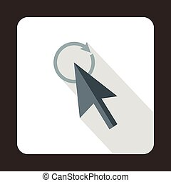 Replacement cursor icon, flat style - Replacement cursor...