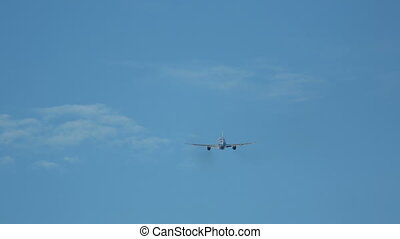 Airplane take-off and climb - Airplane take-off,...