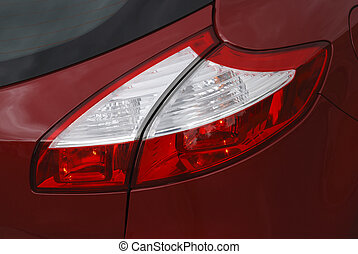 modern european car tail lights