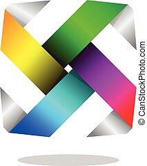 Vibrant Swastika - Vector Design of Vibrant Swastika