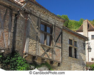 House, Lapopie - Valley of Lot in Midi-Pyrenees