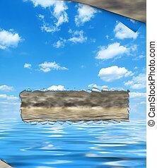 environmental concept, pollution - Environmental concept,...