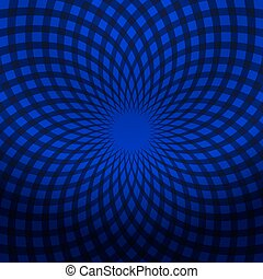 00042_V_dark blue abstract spiral_10 - Abstract pattern for...