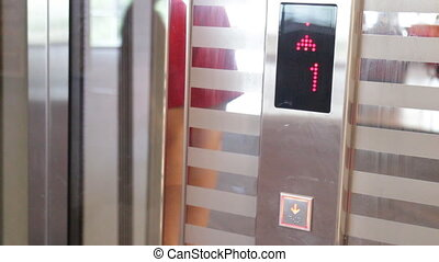 People called lift at 2 floor down