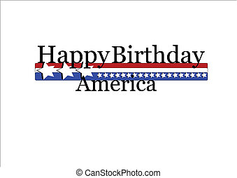happy birthday usa - July 4th background for American...