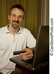 internet purchase - online purchase with credit card