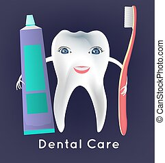 Tooth vector character