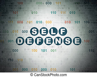 Security concept: Self Defense on Digital Data Paper...