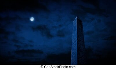 The Washington Monument At Night - The Washington Monument...