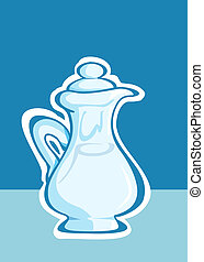 jug -  Old fashioned jug