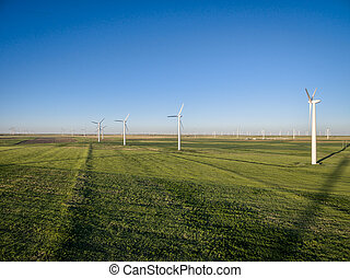 windmill farm at Pawnee Grassland - windmill farm at Pawnee...