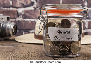Health Insurance Savings Jar