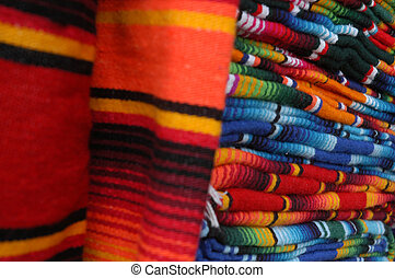 Colorful details of market in San Cristobal de las Casas