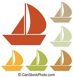 Sail Boat sign