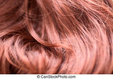 fogo, cabelo