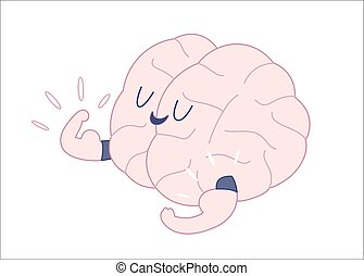 Champion outlined, Train your brain - Champion the brain...