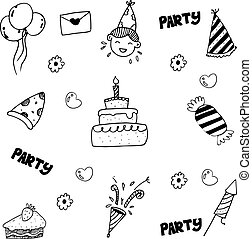 Doodle for kids birthday party