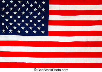 American flag background - United States flag close up...