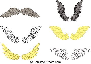 angel wing set for your design