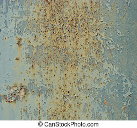 blue metal slate speckles speckled rust...