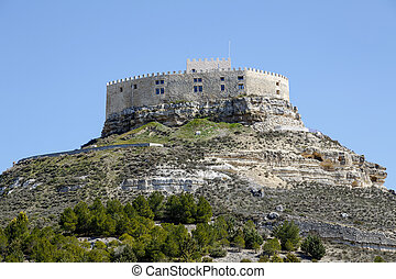 Castle of Curiel de Duero, Valladolid Spain - Castle of...