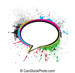messenger window icon - grunge messenger window icon vector...