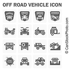 Off road icon - Vector icon and logo design of off road...