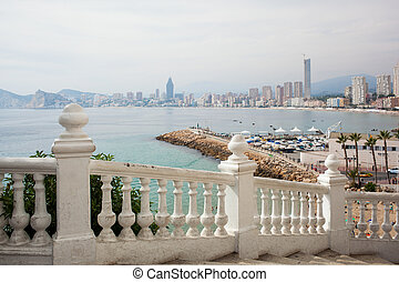 Benidorm balcon del Mediterraneo - Viewing balcony on resort...