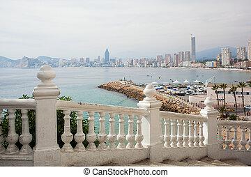 Benidorm balcon del Mediterraneo - Viewing balcony on resort...