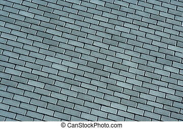 Slate roof shingles background - A Slate roof shingles...