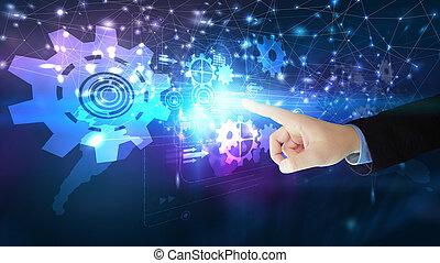 概念, 技術, 數字