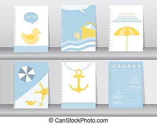 summer, holiday, vacation poster