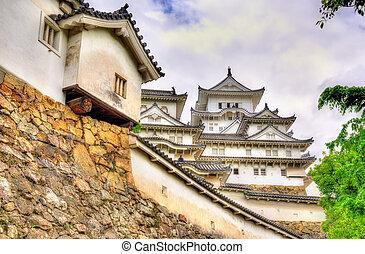Details of Himeji Castle in Japan