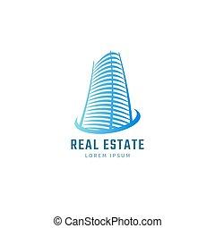 Blue real estate