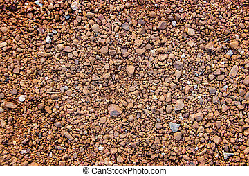 red soil and stone for background
