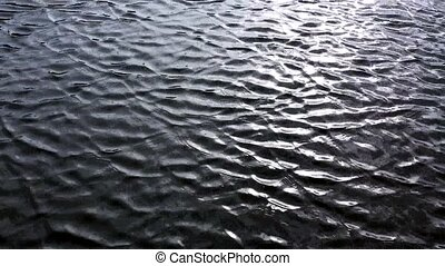 Shining sea water ripple background . - Clear water...