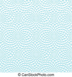 Abstract geometric background with spheres.