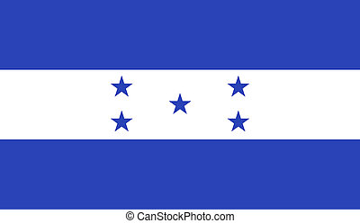 honduras, bandera, imagen