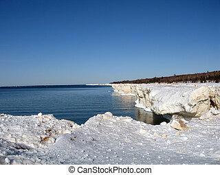 Lake Superior Ice - Ice on lake superior