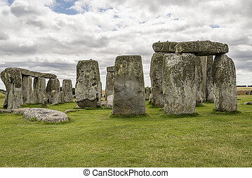 ancient prehistoric Stonehenge - Stonehenge an ancient...