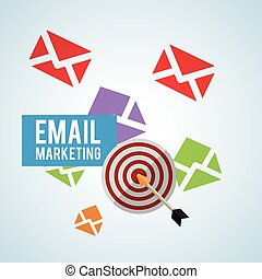 Email design. envelope icon. Isolated illustration , vector