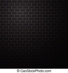 Dark brick wall background.