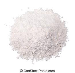 pinch of salt isolated - a pinch of salt isolated on white...